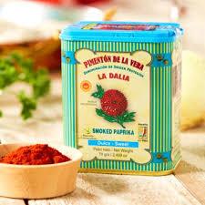 smoky paprika 2 tins of sweet smoked paprika by la dalia