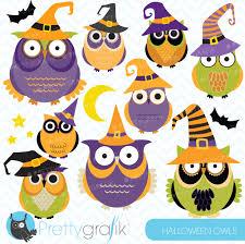 halloween illustrations halloween owls clipart halloween owls clipart cl573 0 99