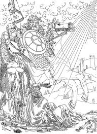 paul on the road to damascus coloring page coloring pages online