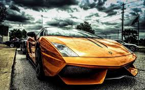 golden ferrari wallpaper gold car pictures