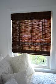 interior cool matchstick blinds design ideas with white theme