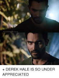 Derek Meme - oteenwolfboyssg oteenwolfboyssig derek hale is so under