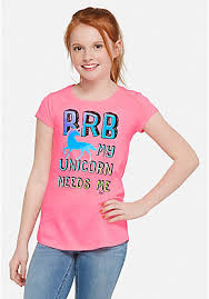 tween girls u0027 graphic tees u0026 shirts justice