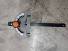 ridgid table saw miter gauge ridgid r4510 r4513 table saw miter gauge assembly ebay