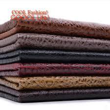 tissus ameublement canapé glitter tissu crocodile tête faux en cuir chaise tissu similicuir pu
