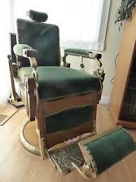 Barber Chairs For Sale Ebay Antique Koken 147 Congress Hydraulic Oak Barber Chair Pat