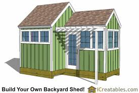 Diy Garden Shed Design by Greenhouse Shed Plans Easy To Use Diy Greenhouse Designs