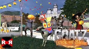 goat simulator goatz trick or bleat new halloween update ios