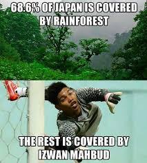 Singapore Meme - singapore goalkeeper izwan mahbud has a blinder vs japan