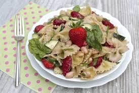 pasta salad pesto strawberry pesto pasta salad the fountain avenue kitchen
