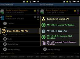 apk services framework lucky patcher android hacking app bluetech support
