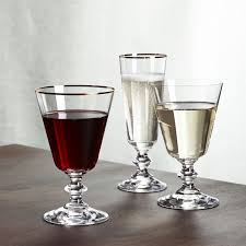 wine glasses wine glasses crate and barrel
