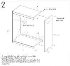 Wood Joints Diagrams by How To Make A Diy Wooden Cabinet From Upcycled Flooring Scraps