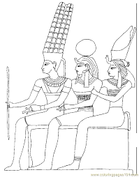 ancient egypt coloring pages coloring
