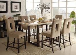 Faux Marble Top Dining Table Furniture Faux Marble Top Dining Table Equipped With Velvet
