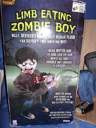 spirit halloween return policy new spirit lifesize animated eating zombie boy halloween decor
