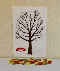 gratitude tree printable for november