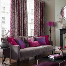 Grey And Purple Living Room Curtains by And Purple Curtains For Apartment Decorating