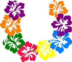 hawaiian leis hibiscus clip at clker vector clip online