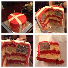 American Flag Awesome Danish And Hidden American Flag Cake This Is Awesome Loooove