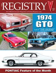 Will Pontiac Ever Return Pontiacregistry Com Magazine Contents