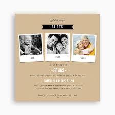 cadeau 60 ans de mariage cartes d invitation 60 ans de mariage votre heureux photo