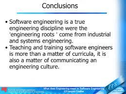 what does engineering mean in u0027software engineering u0027 ppt video
