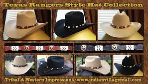 Western Moments Home Decor Texas Rangers Western Hats From Tribal And Western Impressions