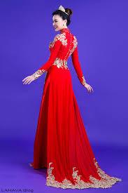 ao dam những mẫu áo dài đám hỏi đẹp và sang trọng cho cô dâu