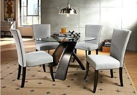 tiburon 5 pc dining table set 5 pc dining table set 10361 5 pc metal and glass dining room table
