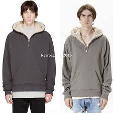 2018 2016 latest top kanye west season oversized pullover hoodie