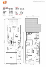 house plans narrow lot small lot house plan the media room can be the living room and
