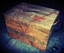 monster in a box haunted house halloween prop 6 steps with