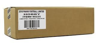 siege auto age limite 2017 panini limited football hobby 15 box da card