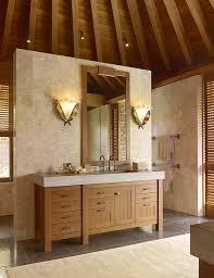 Bathroom Lighting Placement - nice vanity rug u0026 wood vanity placement and bathroom color theme