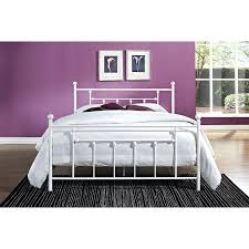 White Metal Headboard by Bed Frames Antique Wrought Iron Beds For Sale Queen Metal Bed