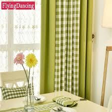 Black Linen Curtains Online Shop Modern Linen Curtains Green White Plaid Curtains For