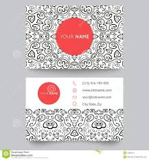 Fashion Photography Business Cards Business Card Vector Background Shipping And Logistics Stock