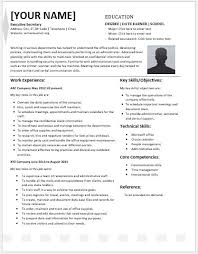 Office Equipment Skills For Resume Executive Secretary Resume Contents Layouts U0026 Templates Resume