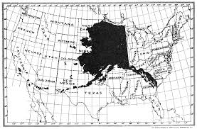 Maps Of Alaska by File Psm V62 D189 Map Of Alaska Compared To The Lower Us States
