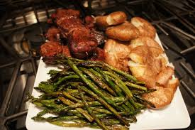 Crazy Wonderful Bacon Wrapped Beef Medallions Grilled Asparagus
