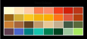 types of green color 4 season color analysis