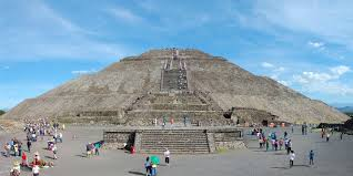 Teotihuacan Mexico Map by Teotihuacan Mexico
