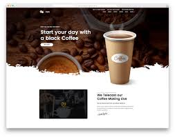 Et Coffee coffee free coffee shop website template colorlib