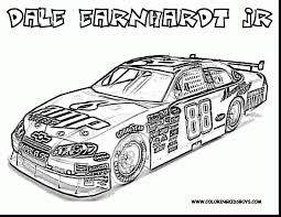 astounding nascar race car coloring pages with disney junior