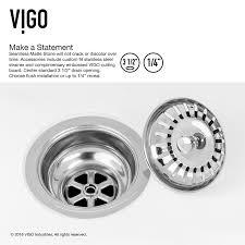 Kitchen Sink Drain Basket Vigo 36 X 18 Farmhouse Kitchen Sink With Sink Drain Strainer