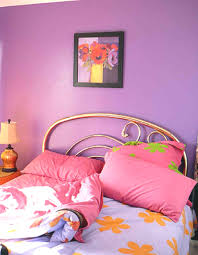 pink color scheme good pink color modern bedroom painted with bed and pillow
