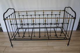 antique iron bed frame bed u0026 shower