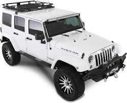 jeep liberty white interior smittybilt 45454 defender roof rack for 07 17 wrangler quadratec