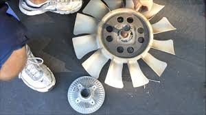 2004 f150 fan clutch how to replace a fan clutch youtube
